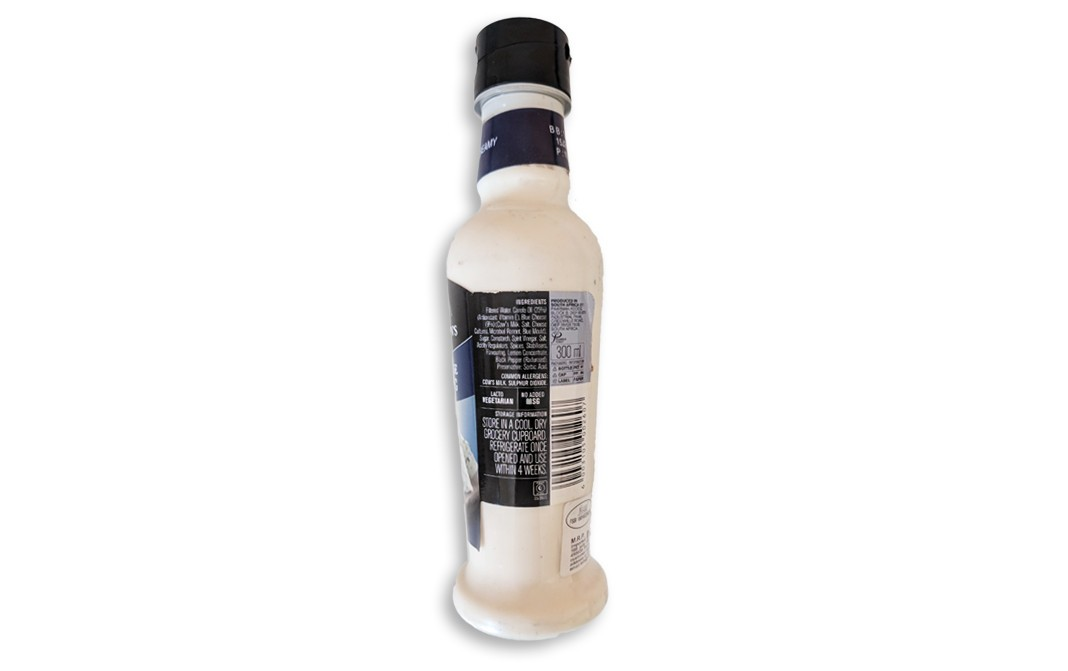 Ina Paarman's Blue Cheese Dressing Creamy   Glass Bottle  300 millilitre