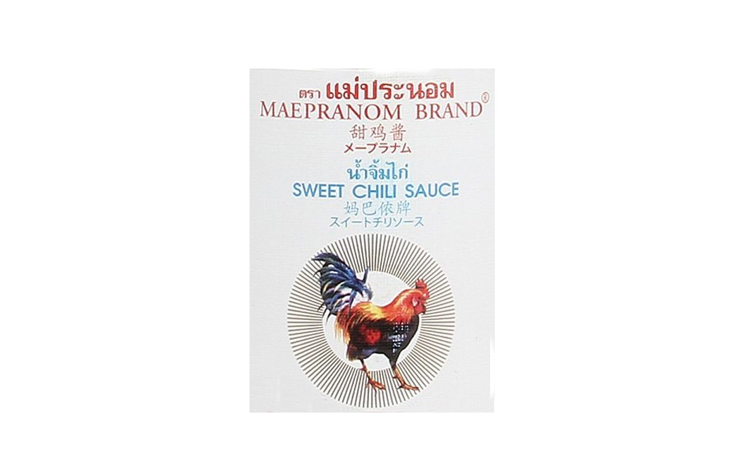 Maepranom Sweet Chilli Sauce   Glass Bottle  390 grams