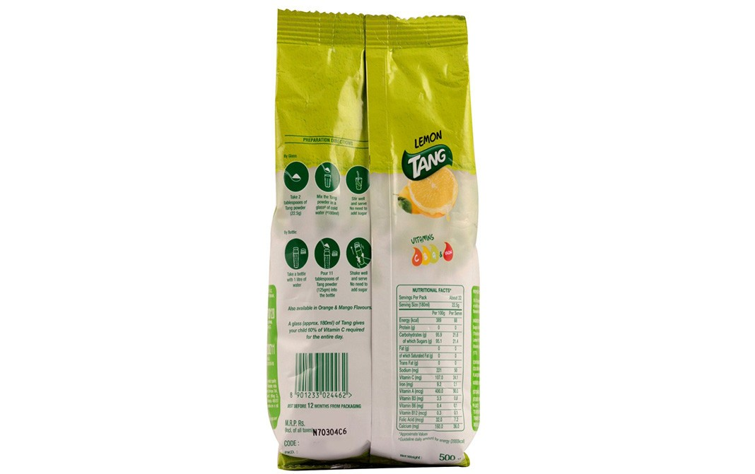 Tang Lemon    Pack  500 grams