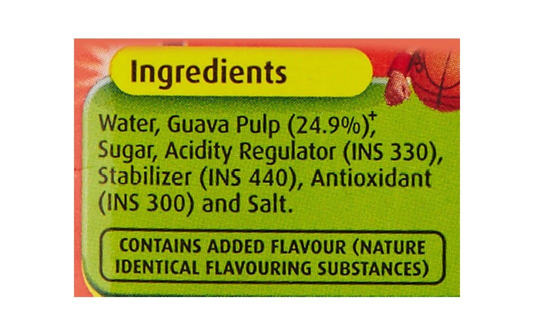 Real Fruit Power Guava   Tetra Pack  1 litre