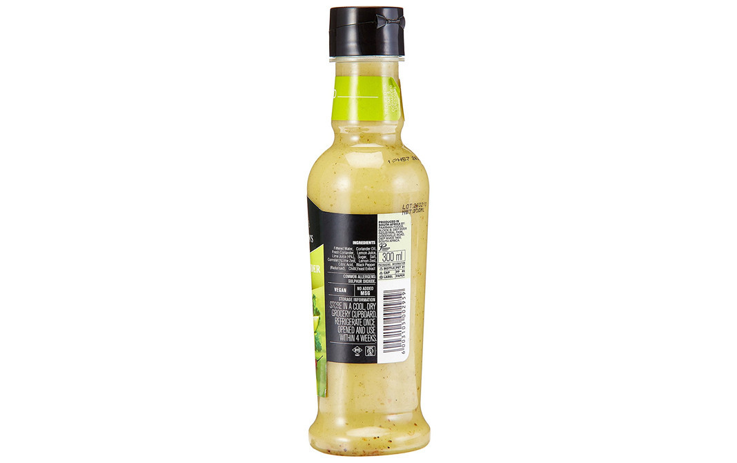 Ina Paarman's Lime & Coriander Sauce Reduced Oil   Glass Bottle  300 millilitre