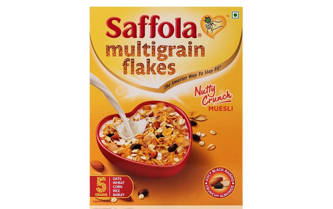 Saffola Multigrain Flakes Nutty Crunch Muesli - Reviews
