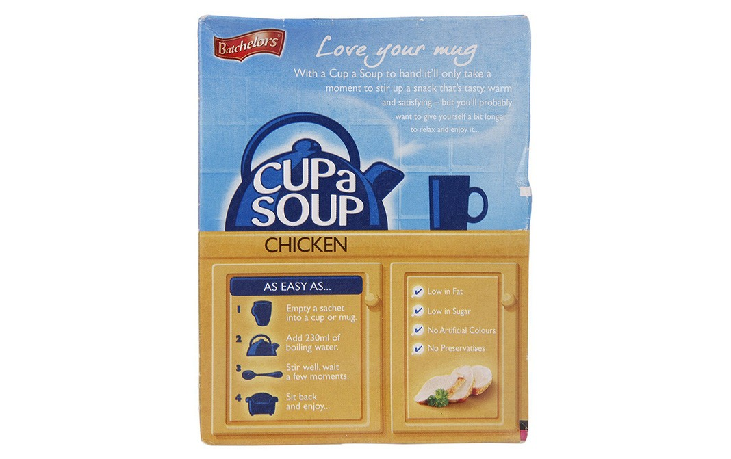 Batchelors Cup a Soup Chicken   Box  81 grams