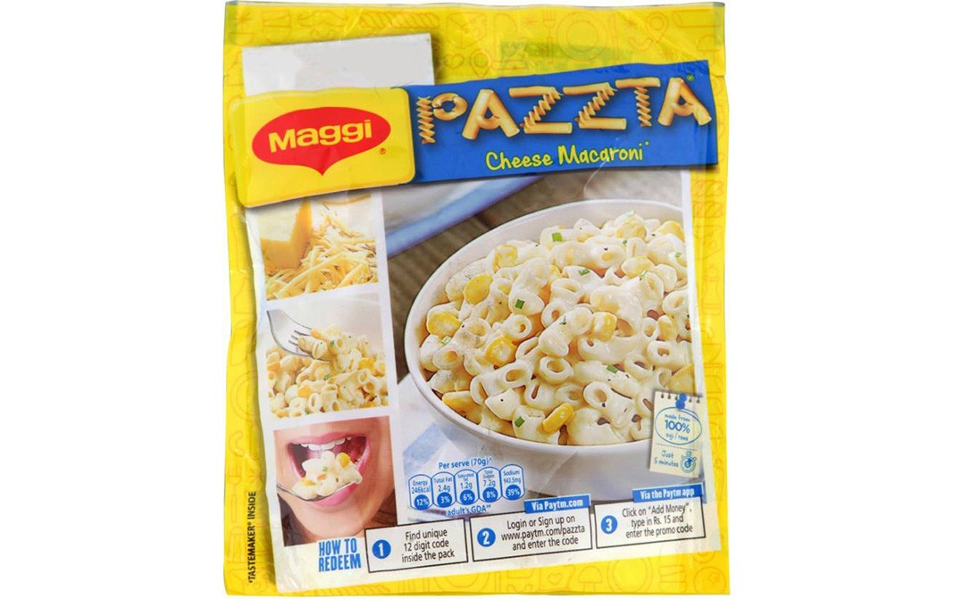 Maggi Pazzta Cheese Macaroni   Pack  70 grams