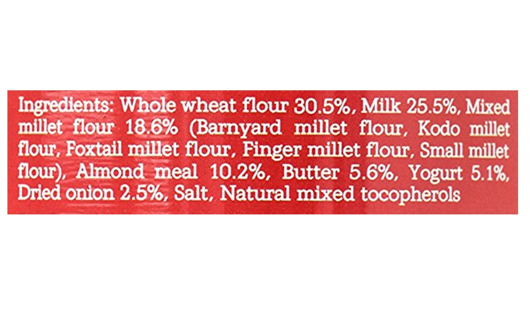 Monsoon Harvest Buttermilk & Millet Crackers, Caramelised Onion   Container  100 grams