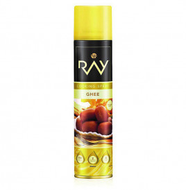 Ray Cooking Spray Ghee   Tin  250 millilitre