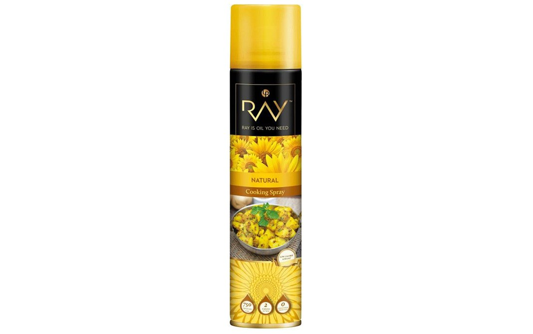 Ray Natural Cooking Spray    Tin  250 millilitre