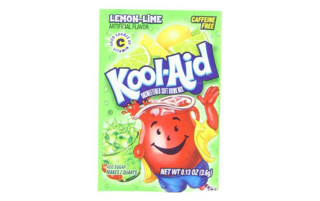 Kool-Aid Lemon-Lime Artificial Flavor   Pack  3.6 grams