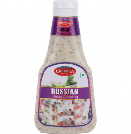 Cremica Russian Salad Dressing  Plastic Bottle  350 grams