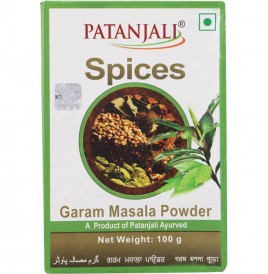Patanjali Garam Masala Powder   Box  100 grams