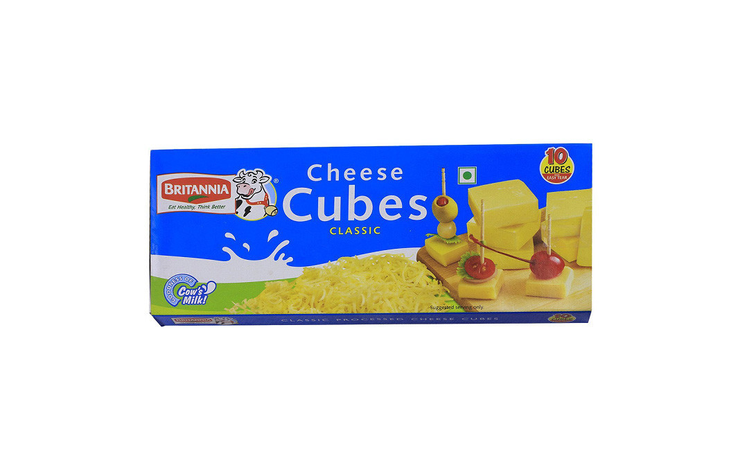 Britannia Cheese Cubes Classic    Box  200 grams