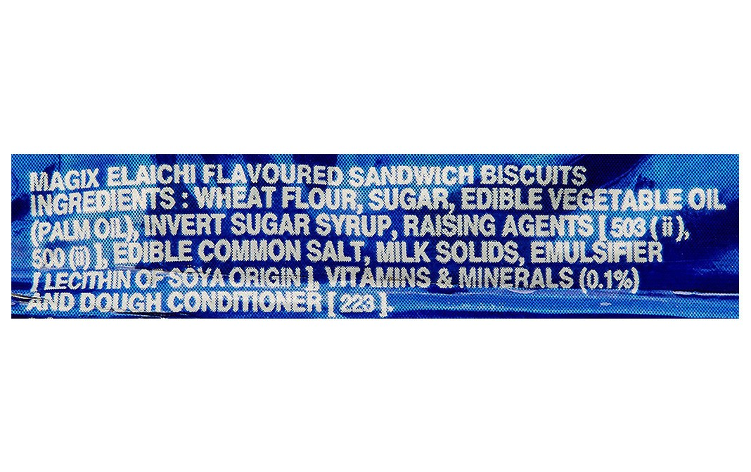 Parle Magix Elaichi Flavoured Sandwich Biscuits   Pack  50.04 grams