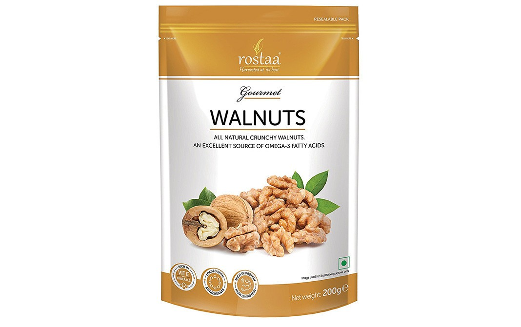 Rostaa Walnuts    Pack  200 grams