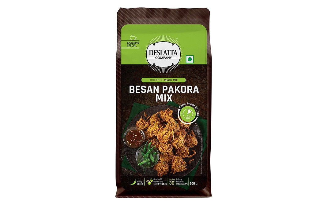 Desi Atta Besan Pakora Mix    Pack  200 grams