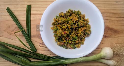 Capsicum Bhurji Recipe