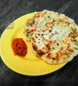 Suji Uttapam Recipe