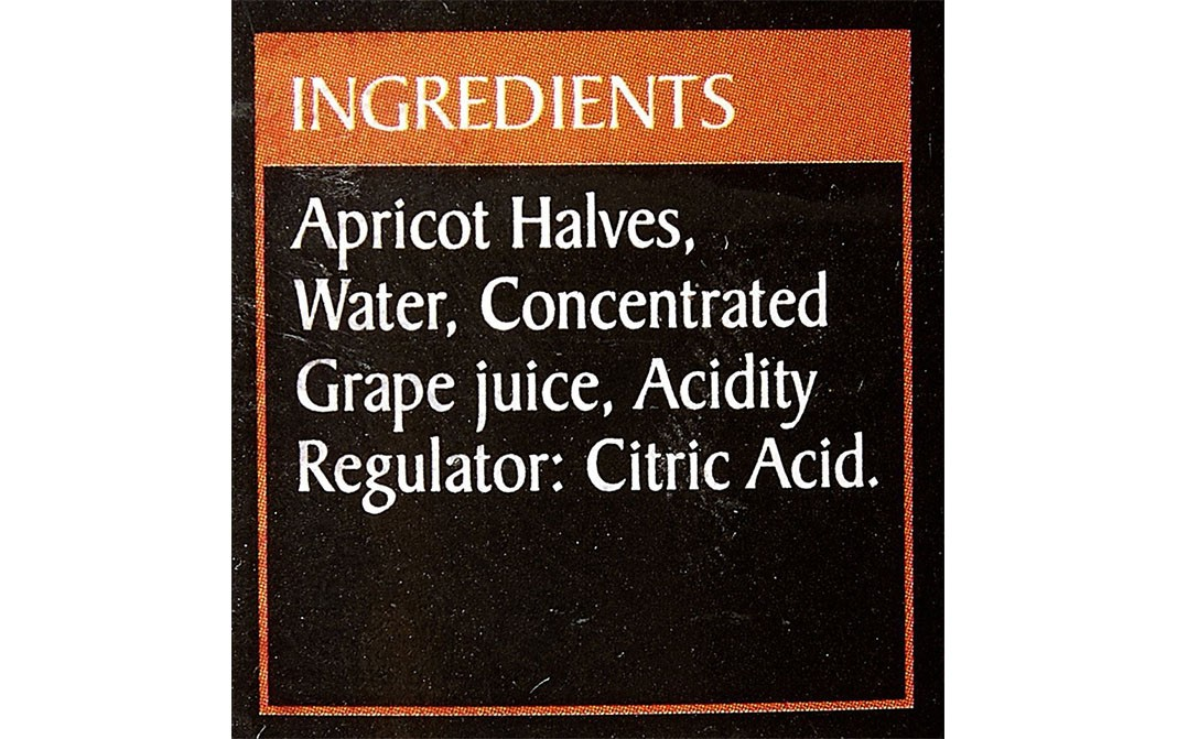 Epicure Apricot Halves In Fruit Juice   Tin  411 grams
