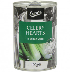 Epicure Celery Hearts In Salted Water  Tin  400 grams