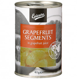 Epicure Grapefruit Segments In Grapefruit Juice  Tin  411 grams