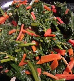 Spinach And Carrot Stir Fry Recipe