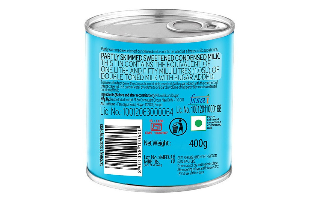 Nestle Milkmaid    Tin  400 grams