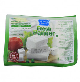 Mother Dairy Fresh Paneer   Pack  200 grams