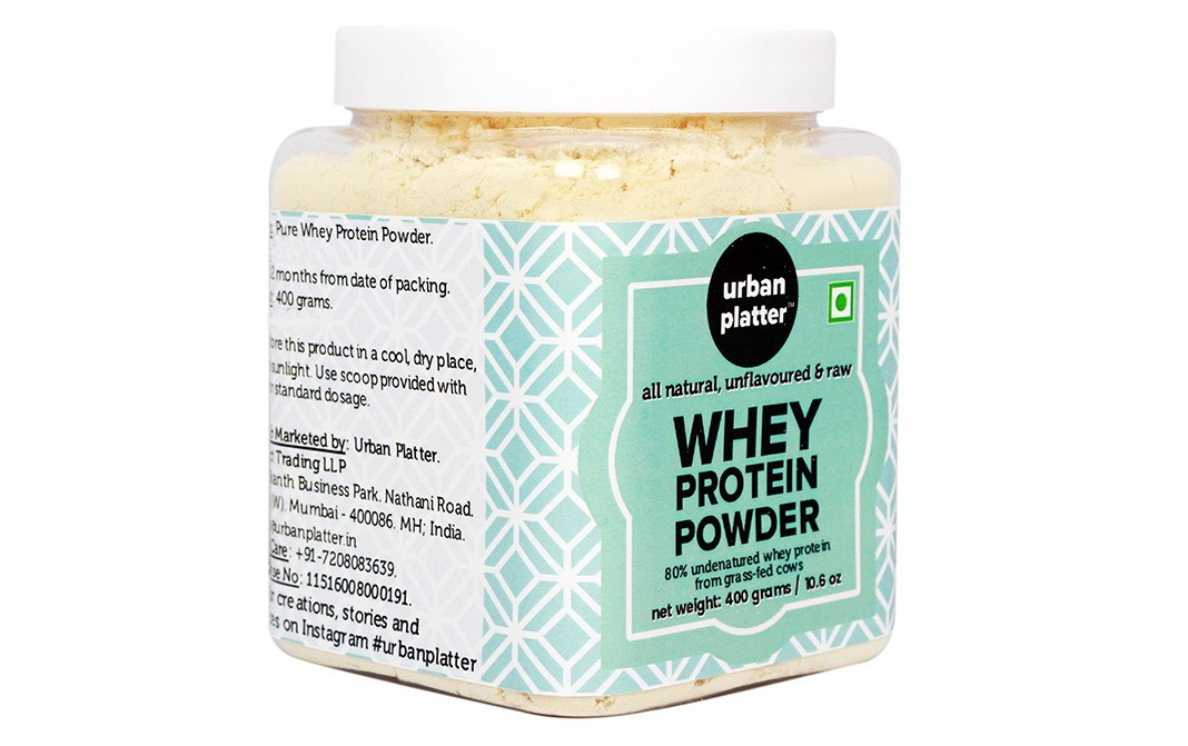 Urban Platter Whey Protein Powder    Jar  400 grams