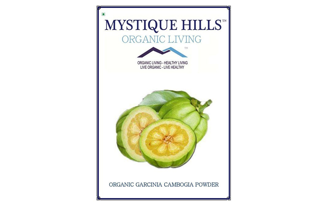 Mystique Hills Organic Garcinia Cambogia Powder Box 200 Grams