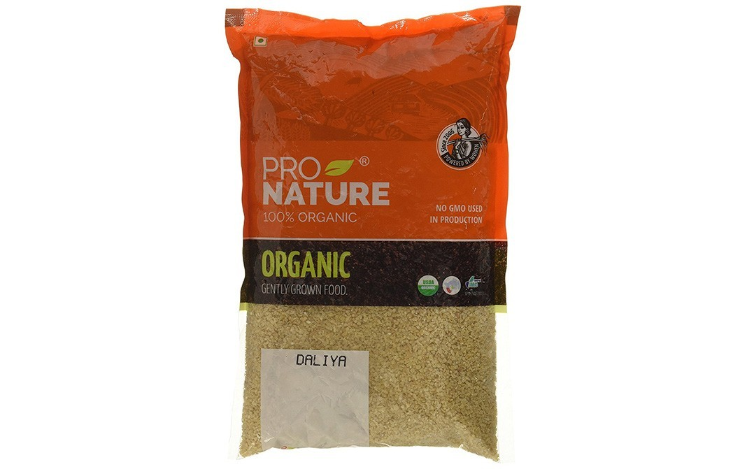 Pro Nature Organic Daliya    Pack  500 grams