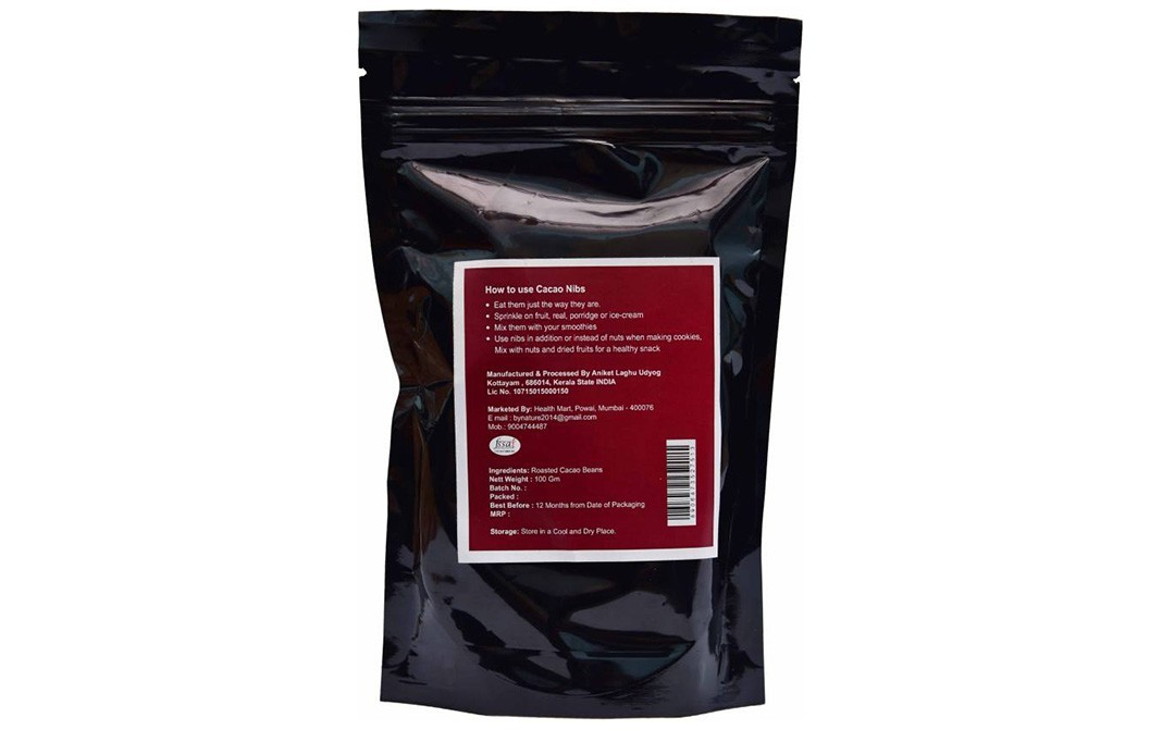 By Nature Cacao Nibs    Pack  100 grams