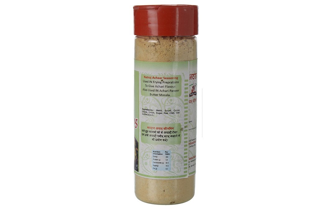Natraj Aachar Seasoning    Plastic Bottle  125 grams