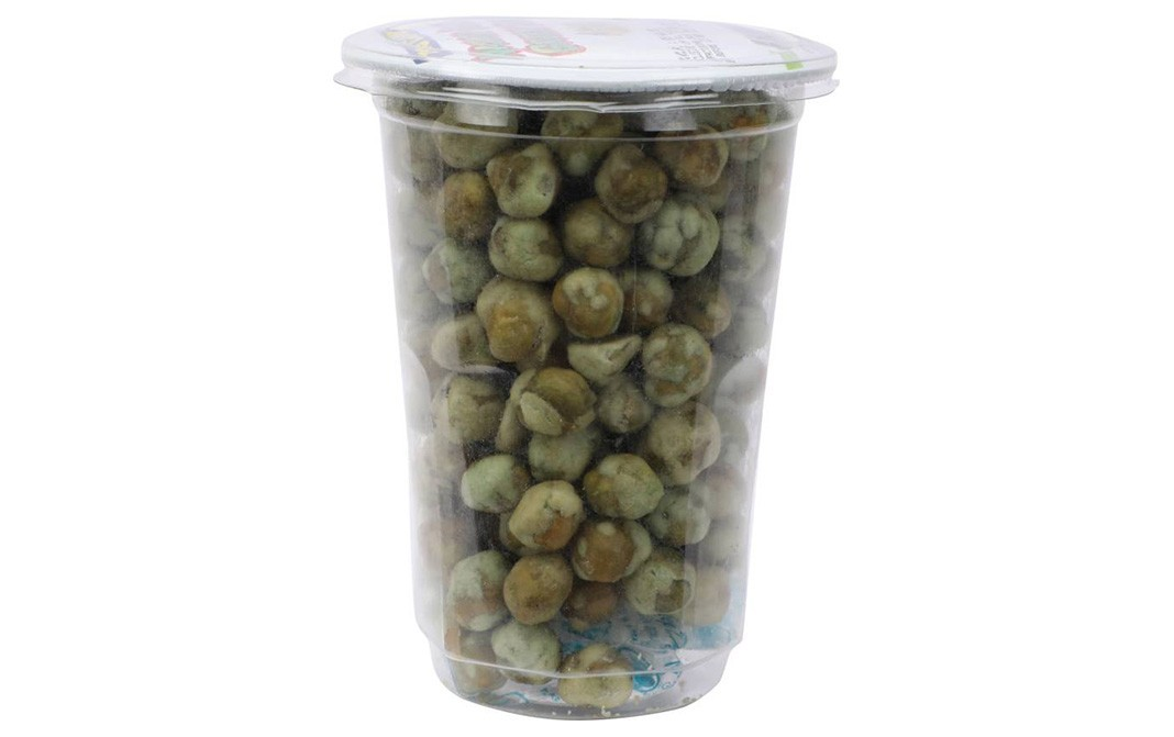 Tong Garden Wasabi Coated Green Peas    Plastic Jar  90 grams