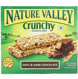 Nature Valley Crunchy Granola Bars, Oats & Dark Chocolate  252 grams