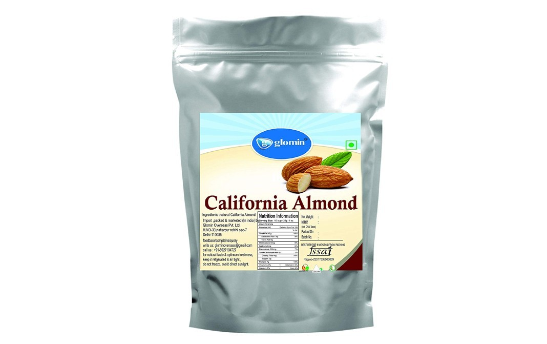 Glomin California Almond    Pack  1 kilogram