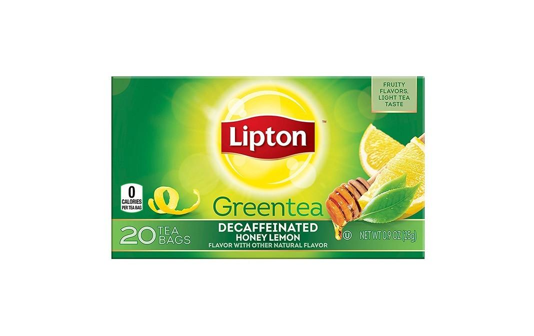 Lipton Decaffeinated Honey Lemon Green