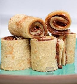 Peanut Butter Nutella Pinwheels Recipe