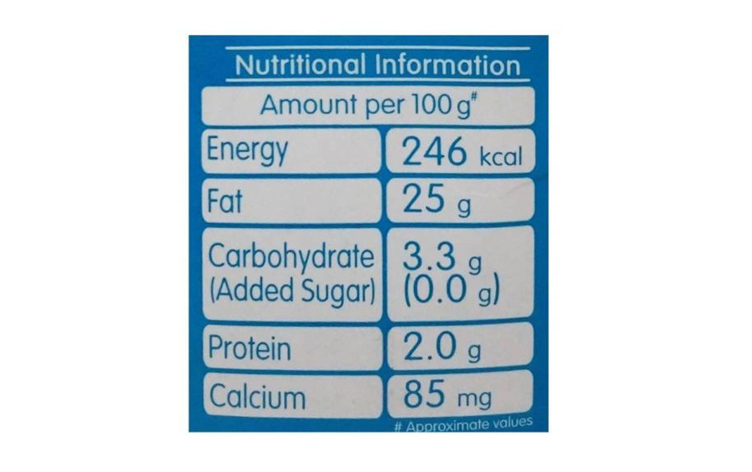 Mother Dairy Cream    Tetra Pack  200 millilitre