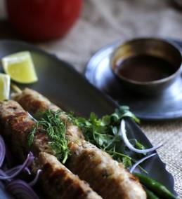 Soya pyaaz ke sheesh kebab Recipe
