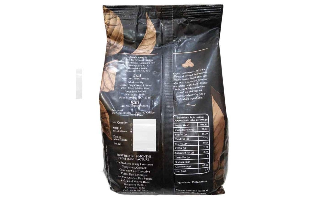 Coffee Day Highland Aroma Premium Coffee Beans   Pack  500 grams