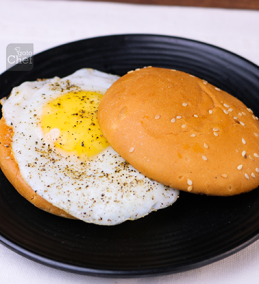 Sunny Side Up Burger Recipe