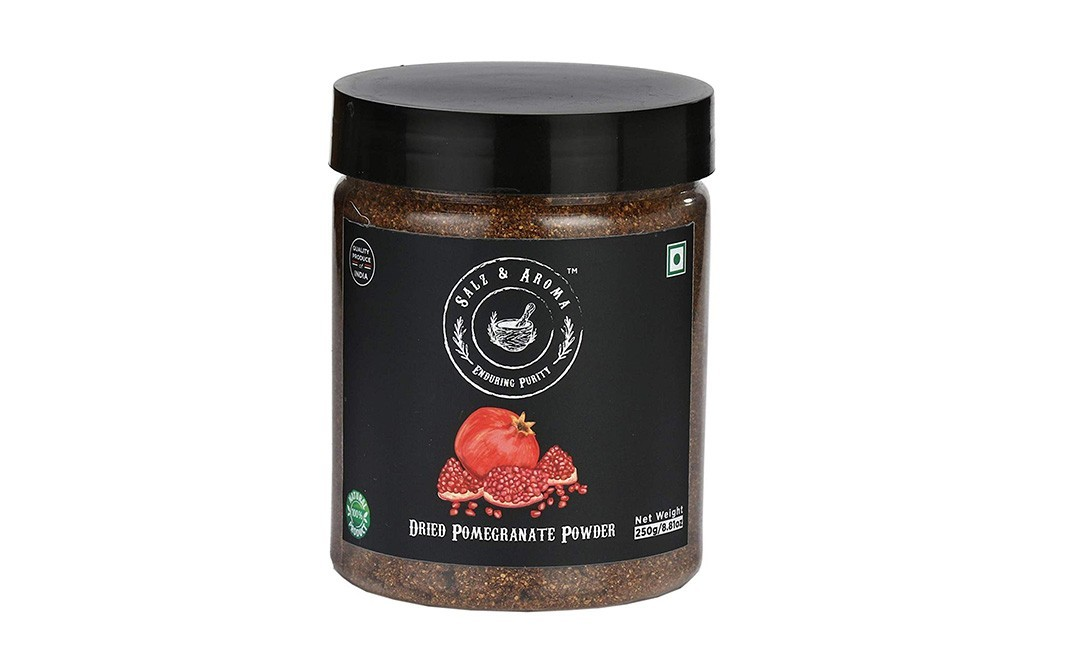 Salz & Aroma Dried Pomegranate Powder    Plastic Jar  250 grams