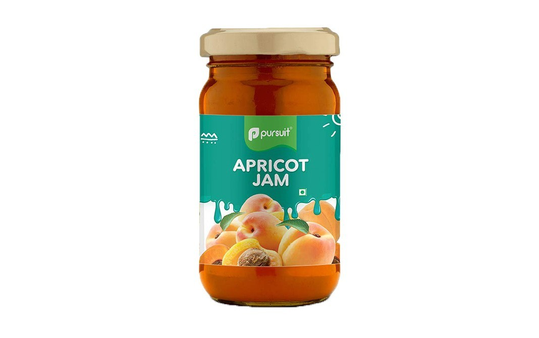 Pursuit Apricot Jam    Glass Jar  370 grams