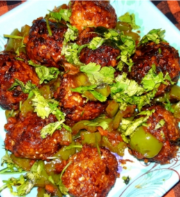 Dry Cabbage Manchurian Chinese style Recipes