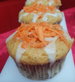Carrot cup Cake Recipe
