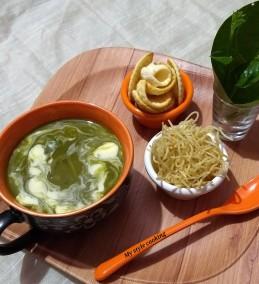 Malabar spinach soup Recipe
