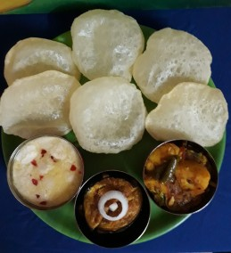 Bengali special Breakfast thali Recipe