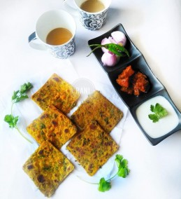 Mini methi thepla Recipe