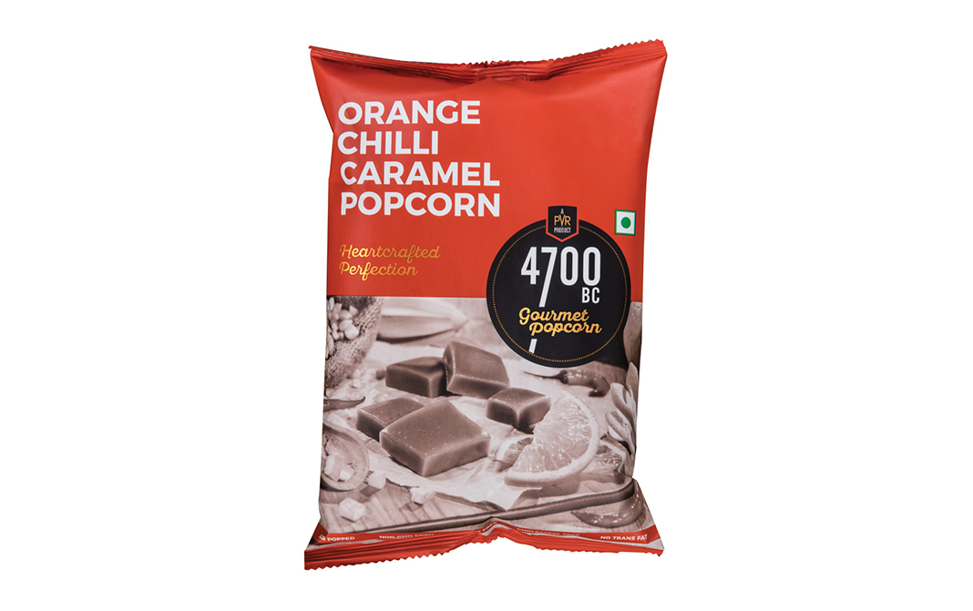 4700BC Orange Chilli Caramel Popcorn Heartcrafted Perfection   Pack  60 grams