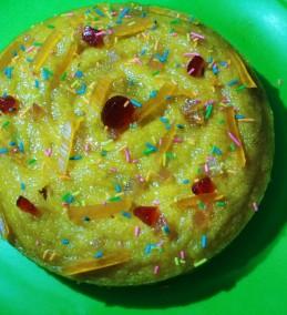 Mango Rava Cake Recipe
