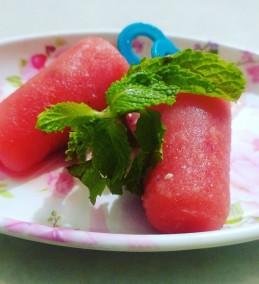 Watermelon Ice Lollies Recipe